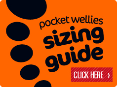 Feetz Pocket Festival Wellies Sizing Guide